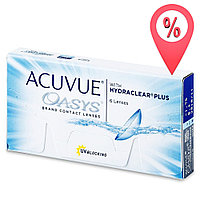 Контактные линзы Acuvue Oasys with Hydraclear Plus 6 шт