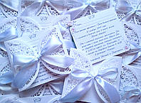 Оригинальные свадебные пригласительные, приглашение на свадьбу ручной работы ажурные