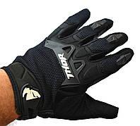 Кроссовые перчатки Thor Black, текстильные мотоперчатки