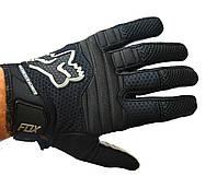 Кросові рукавички Fox, мотоперчатки текстильні FOX, фото 1