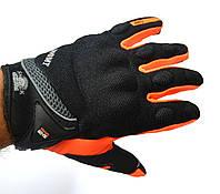 Мото перчатки SUOMY, мотоперчатки текстильные Soumy Orange, фото 1