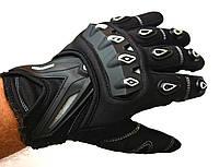 Мото рукавички SCOYCO MC10 white, мотоперчатки текстильні з захистом, фото 1