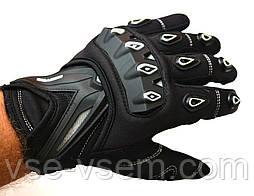Мото перчатки SCOYCO MC10  white, мотоперчатки текстильные с защитой