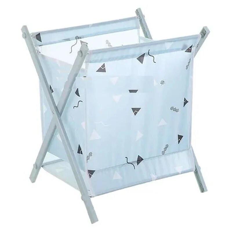 Корзина для белья Laundry Storage Basket Синяя