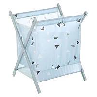 Корзина для белья Laundry Storage Basket Синяя, фото 1