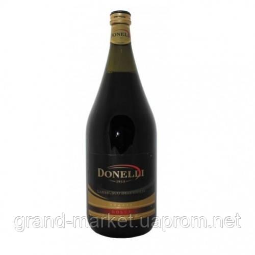 Вино ігристе Lambrusco dell'emilia Donelli, 1,5 l