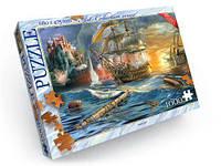 "Пазлы ""Корабль в бою"", 1000 эл, Dankotoys, данкотойс,dankotoys,развивающие"