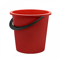 Ведро пластиковое 10 литров Юнипласт цветное