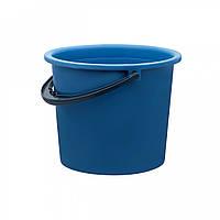 Ведро пластиковое 8 литров Юнипласт цветное