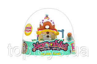 Ігрова фігурка Nanables Jazwares Small House Місто солодощів Їдальня Пончик (NNB0011)