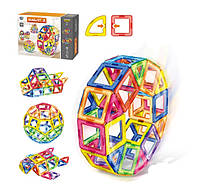 Магнитный конструктор для детей 106 деталей