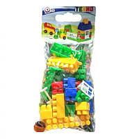 Конструктор (44 эл), детские конструкторы,конструктор для мальчиков,конструктор пластиковый,конструктор лего