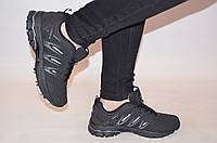 Кроссовки подростковые чёрные нубук BONA 752Д-2, фото 1