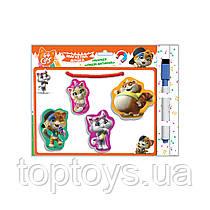 Магнітна дошка Vladi Toys Пиши витирай 44 Кота (VT3601-09)