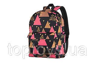 "Рюкзак для ноутбука 2E TeensPack 13"" Triangles Black (2E-BPT6114BK)"