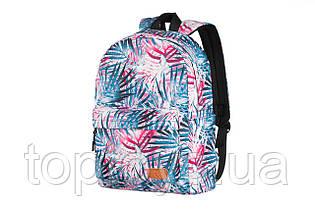 "Рюкзак для ноутбука 2E TeensPack 13"" Palms Pink Blue (2E-BPT6114PK)"