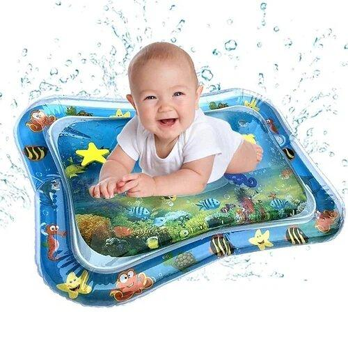 Надувний дитячий розвиваючий килимок Підводний світ