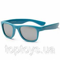 Дитячі сонцезахисні окуляри Koolsun блакитні серії Wave Розмір 3+ (KS-WACB003)
