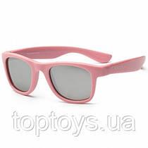 Дитячі сонцезахисні окуляри Koolsun ніжно-рожеві серії Wave Розмір 3+ (KS-WAPS003)