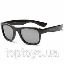 Дитячі сонцезахисні окуляри Koolsun чорні серії Wave Розмір 3+ (KS-WABO003)