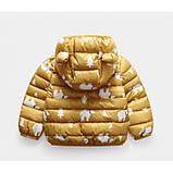 Демисезонная курточка желтая Рост: 100-120 см, фото 2