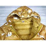 Демисезонная курточка желтая Рост: 100-120 см, фото 5