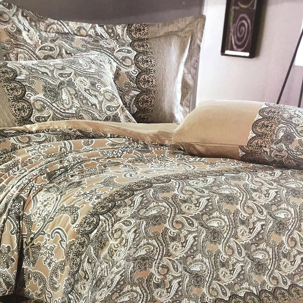 """""""східні мотиви"""" постільна білизна Elway Premium євро розмір 200*220 см,тканина сатин 100% бавовна"""