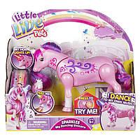Інтерактивна іграшка Little Live Pets Танцюючий єдиноріг Іскорка (28683)