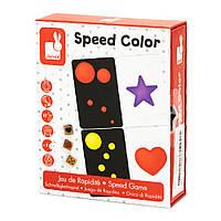 Настільна гра Janod Вивчаємо колір (J02699)