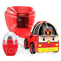 Маленька машинка в яйці Robocar Poli Рой 2.8 см (83290)