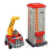 Набір Robocar Poli Пожежна станція із фігуркою Рой (83409)