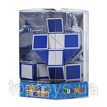 Головоломка Rubiks Змійка Біло-блакитна (RBL808-1)