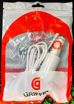 Автомобильное зарядное устройство (USB адаптер) GRIFFIN + кабель V8