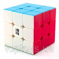 Головоломка Кубик Рубіка QiYi 3х3 MoFanGe Warrior W кольоровий пластик (6948154201697)