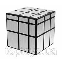 Головоломка QiYi MoFangGe Дзеркальний кубик 3х3 срібний (4370455)
