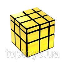 Головоломка Дзеркальний кубик QiYi 3х3 MoFangGe золотий (6948154201543)