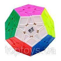Головоломка Мегамінкс QiYi MoFangGe QiHeng S кольоровий пластик (6948154201567)