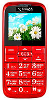 Мобильный телефон Sigma mobile Comfort 50 Slim red