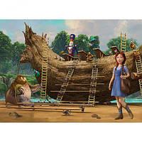 """Пазлы """"Страна Оз Строительство корабля"""", 120 элементов, Castorland, пазл,пазлы castorland,детские пазлы"""