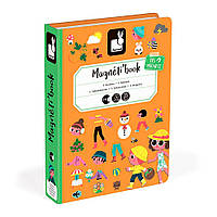 Магнітна книга Janod 4 сезони (J02721)