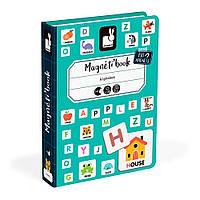 Магнітна книга Janod Англійський алфавіт (J02712)