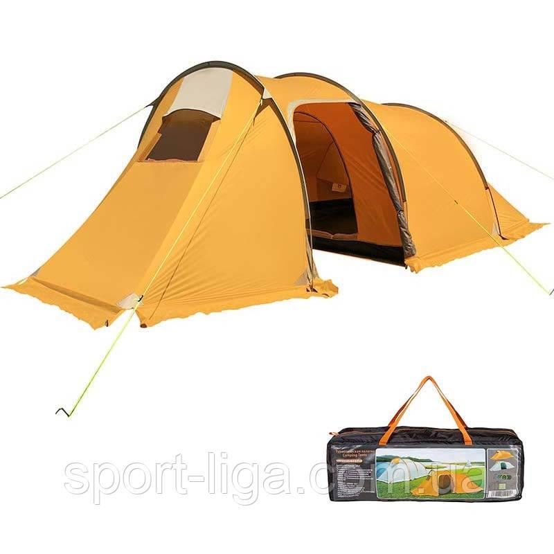 Палатка 3-х местная Mimir 1017, оранжевая