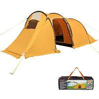 Палатка 3-х местная Mimir 1017, оранжевая, фото 1