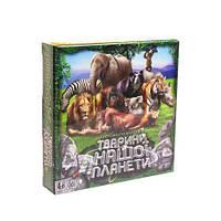 """Карточная игра-викторина """"Животные нашей планеты"""" (укр), Dankotoys, развлекательные игры,детская настольная"""