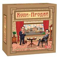 """Настольная игра """"Купи-Продай"""", Artos games, детская настольная игра,настольные игры для детей,монополия"""
