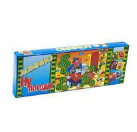"""Домино """"Ну, погоди!"""", Artos games, игрушки для малышей,детские развивающие настольные игры,детские игрушки"""