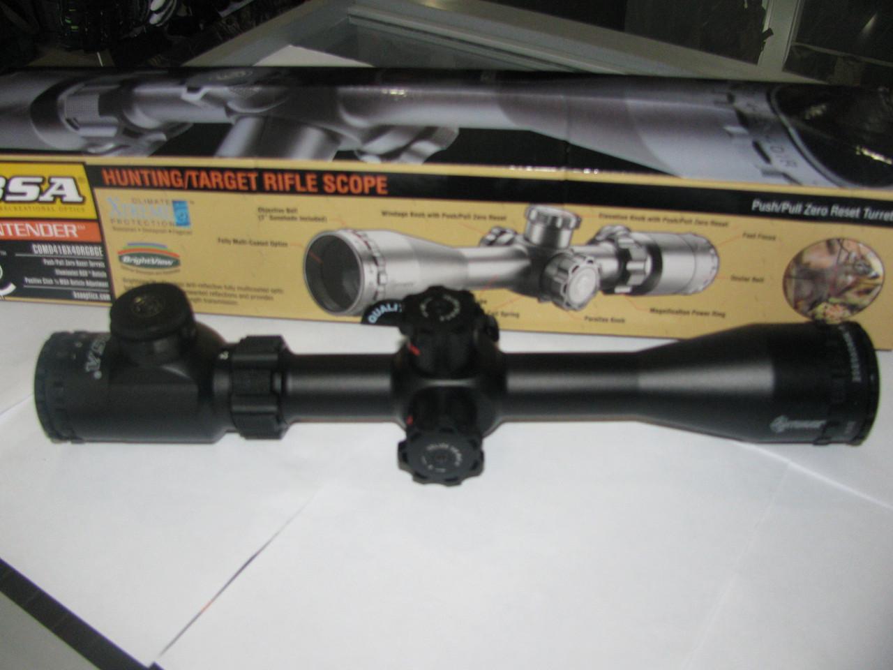 Оптичний приціл BSA Contender 4-16x40 RGBGE