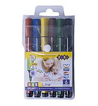 Фломастери ZiBi JUMBO 6 кольорів (ZB.2806)