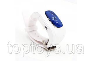 Дитячі годинник-телефон з GPS трекером GOGPS ME K50 білий (K50WH)