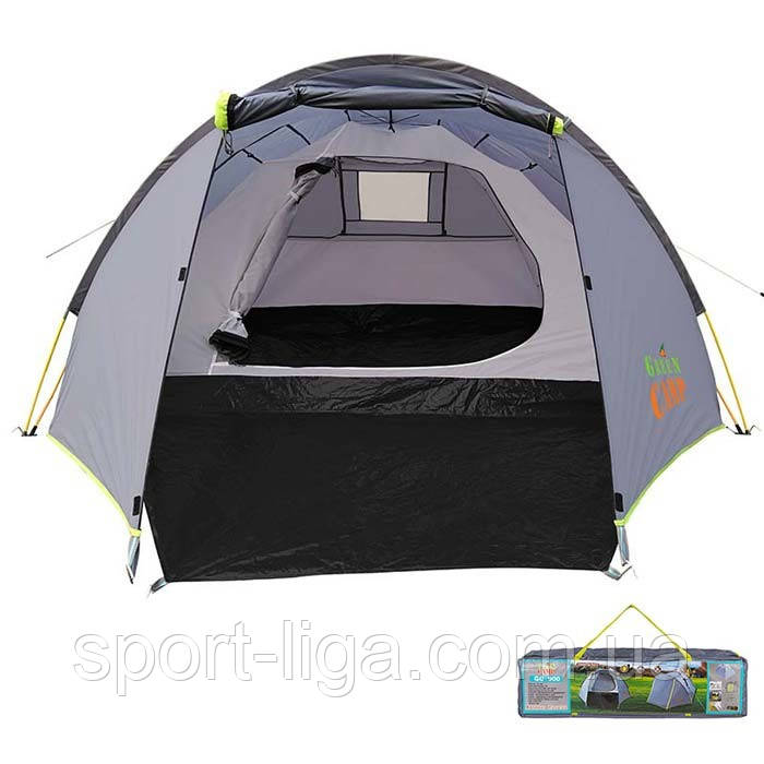 Палатка 4-х местная GreenCamp 900, автомат